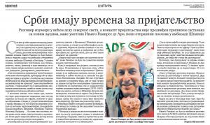 Imagen de la entrevista en Politika